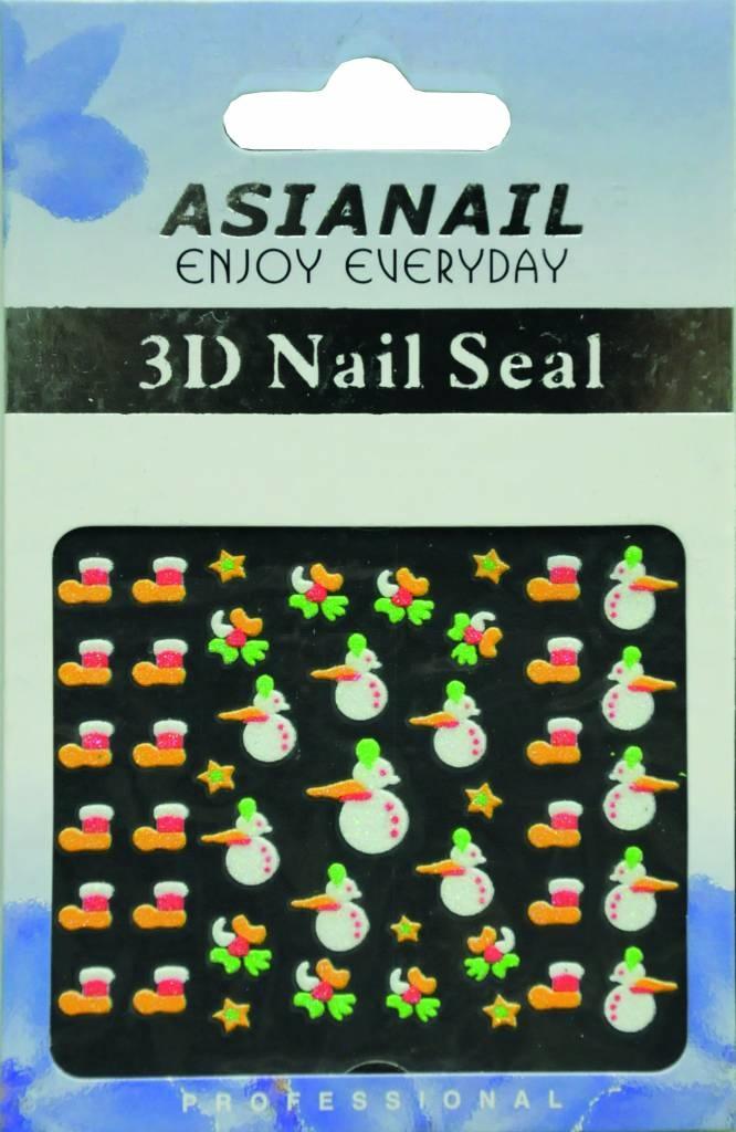 Bell'ure Nail Art Sticker Christmas Socks