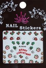 Bell'ure Nail Art Sticker Christmas Merry Christmas