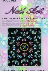 Bell'ure Nail Art Sticker Flowers AK15
