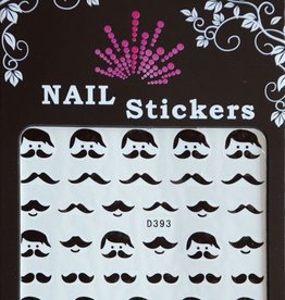 Bell'ure Nail Art Sticker Moustache Leo