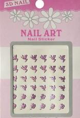Bell'ure Nail Art Sticker 3D 100