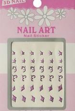 Bell'ure Nail Art Sticker 3D 113