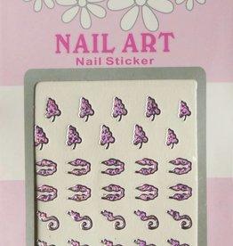 Bell'ure Nail Art Sticker 3D 117