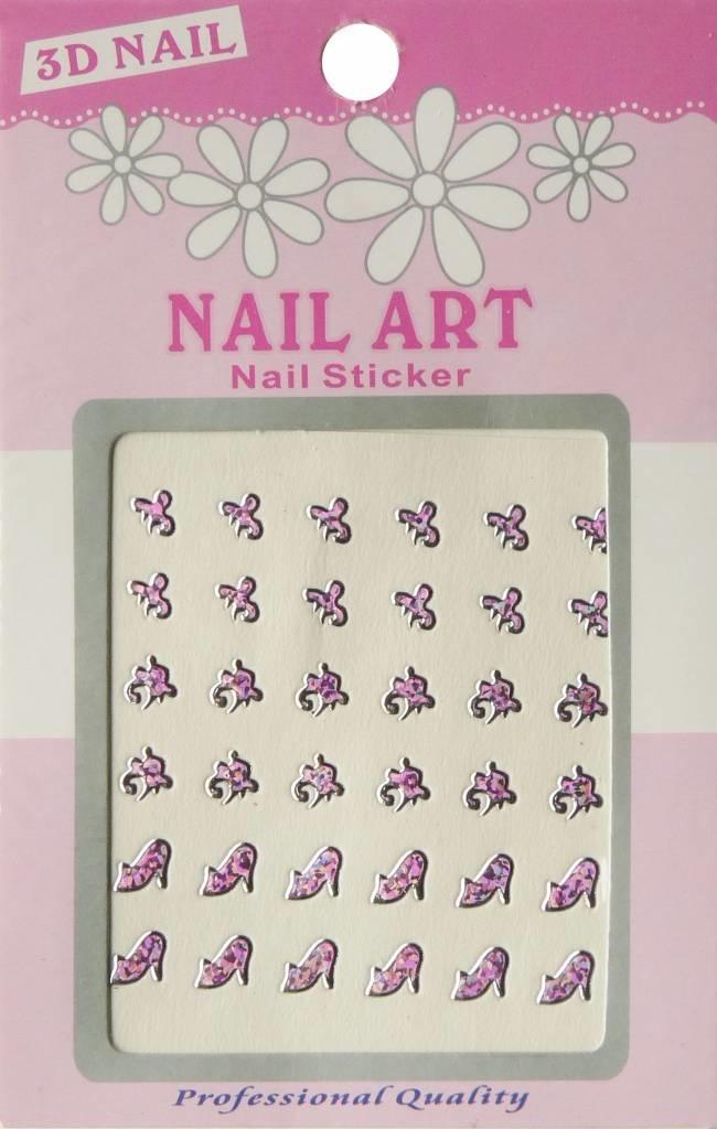 Bell'ure Nail Art Sticker 3D 119
