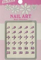 Bell'ure Nail Art Sticker 3D 121