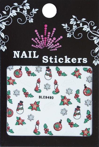 Bell'ure Nail Art Sticker Christmas Tree