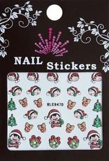 Bell'ure Nail Art Sticker Christmas Elfs