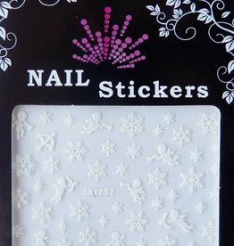 Bell'ure Nail Art Sticker Snowflakes 057