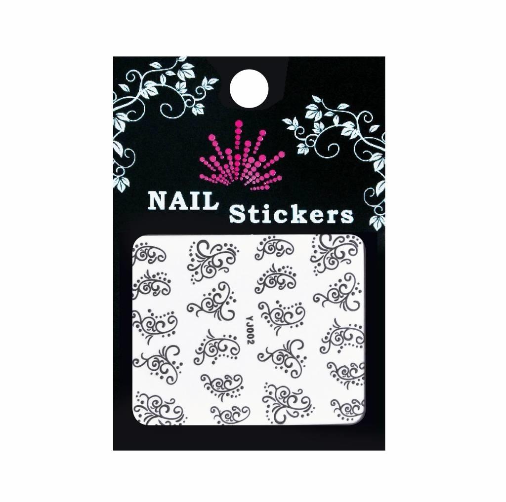 Bell'ure Nail Art Sticker Dots & Curls