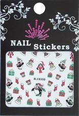 Bell'ure Nail Art Sticker Christmas Penguins