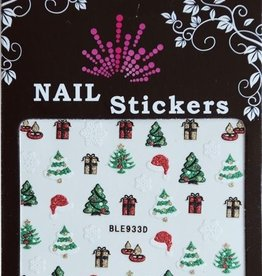 Bell'ure Nail Art Sticker Christmas Trees & Gifts