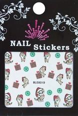 Bell'ure Nail Art Sticker Christmas Gifts & Cats