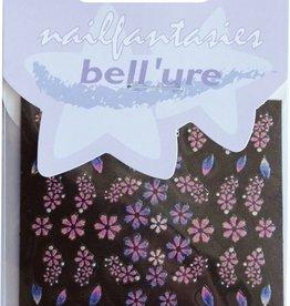 Bell'ure Nail Art Sticker Rainbow Flowers