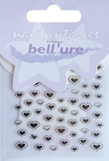 Bell'ure Nail Art Sticker Dotted Hearts