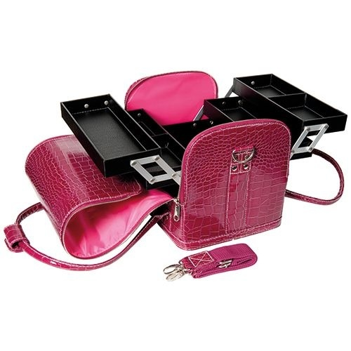 Bell'ure BeautyCase Croco Pink
