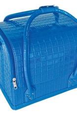 Bell'ure Cas de Beauté Bleu Croco