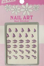 Bell'ure Nail Art Sticker 3D 117