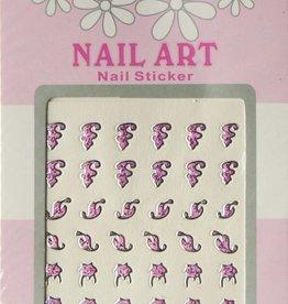 Bell'ure Nail Art Sticker 3D 123