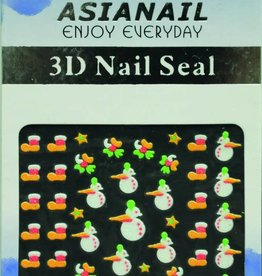 Bell'ure Nail Art Sticker Christmas Socks