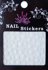 Bell'ure Nail Art Sticker Snowflakes 051
