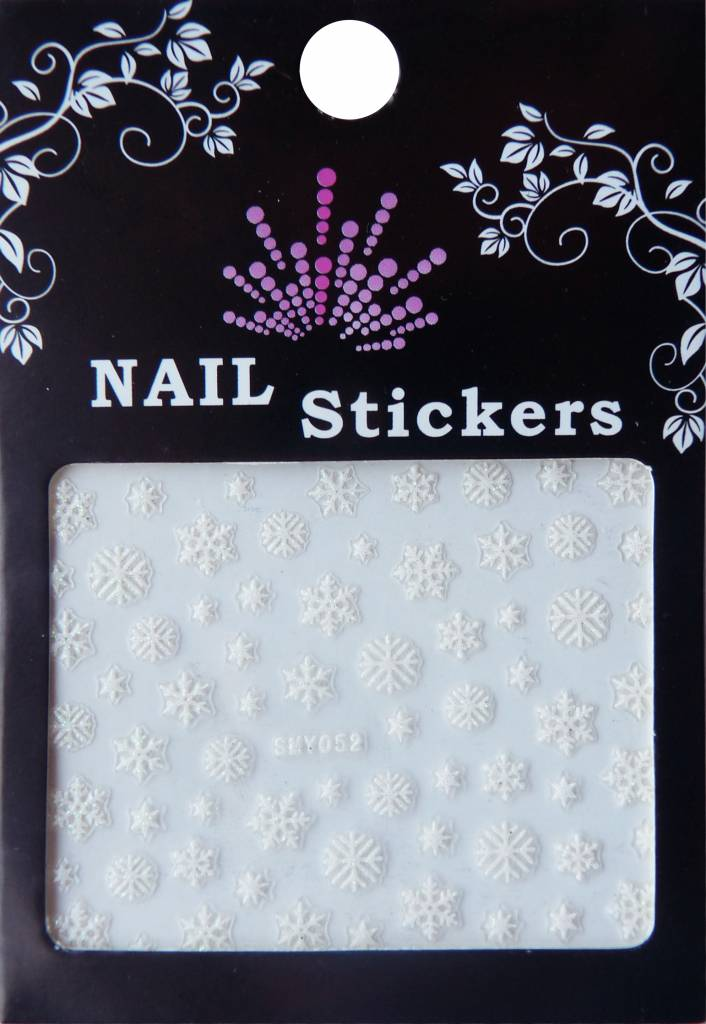 Bell'ure Nail Art Sticker Snowflakes 052