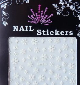 Bell'ure Nail Art Sticker Snowflakes 056
