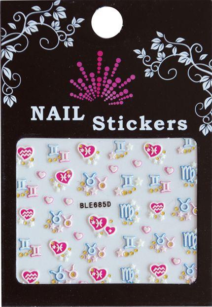 Bell'ure Nail Art Sticker Signs