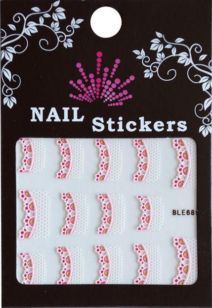 Bell'ure Nail Art Sticker Jeweled Tips