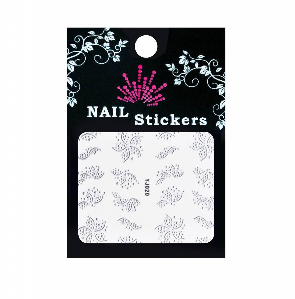 Bell'ure Nail Art Sticker Stripes & Dots