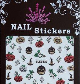 Bell'ure Nail Art Sticker Halloween Pumpkins