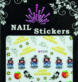 Bell'ure Nail Art Sticker Halloween Witch