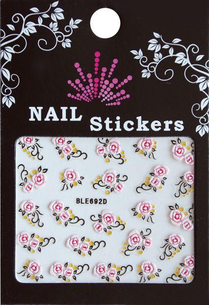 Bell'ure Nail Art Sticker Flowers BLE692D