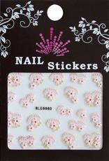 Bell'ure Nail Art Sticker Flowers BLE698D