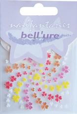 Bell'ure Nail Art Sticker Clover Orange & Yellow