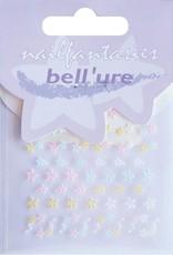 Bell'ure Nail Art Sticker Pastel Flowers