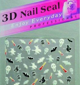 Bell'ure Nail Art Sticker Halloween Miscellaneous