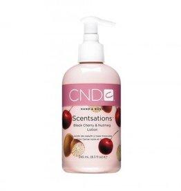 CND Scentsations Hand & Body  lotion Black Cherry & Nutmeg 245ml