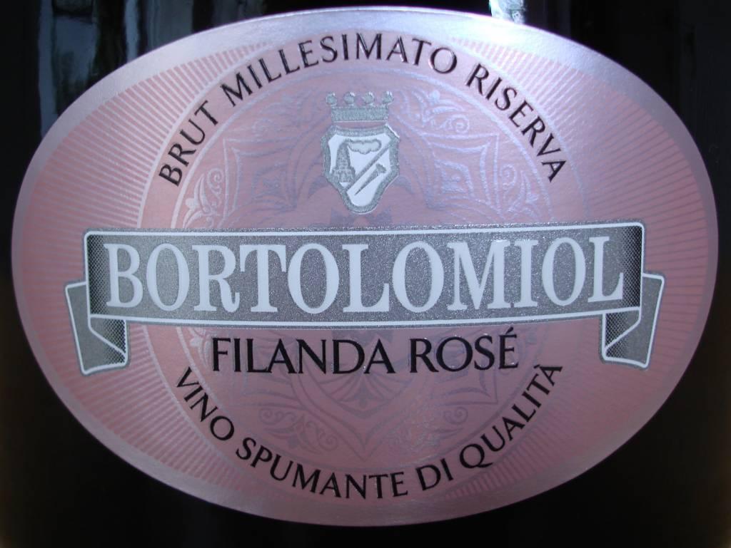 Bortolomiol, Brut Millesimato Filanda Rosato, 2018