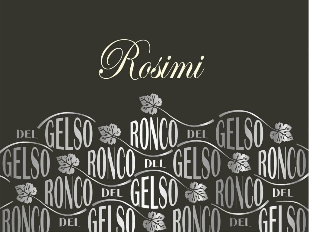Ronco del Gelso, Friuli Isonzo Rosato Rosimi, 2018