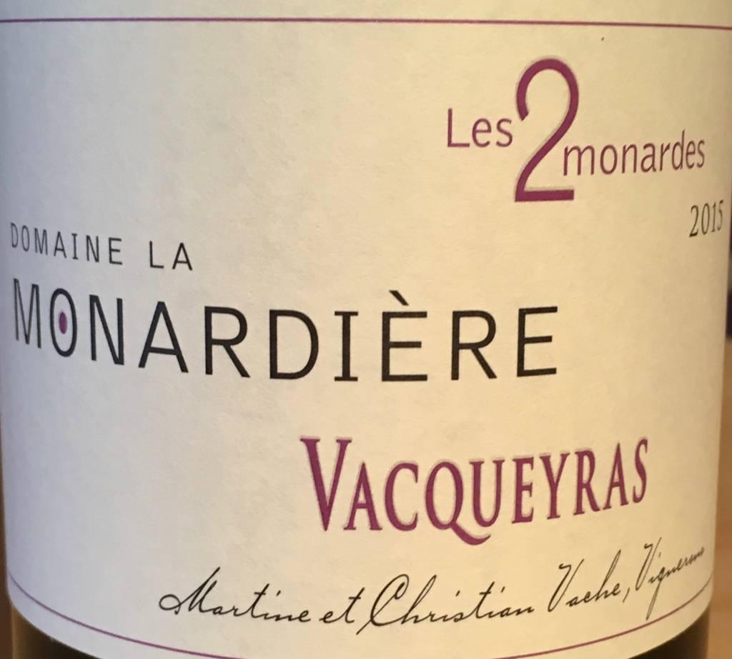 La Monardière, Vacqueyras Les 2 Monardes, 2016