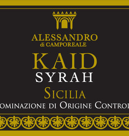 Alessandro di Camporeale, Syrah Kaïd, 2017