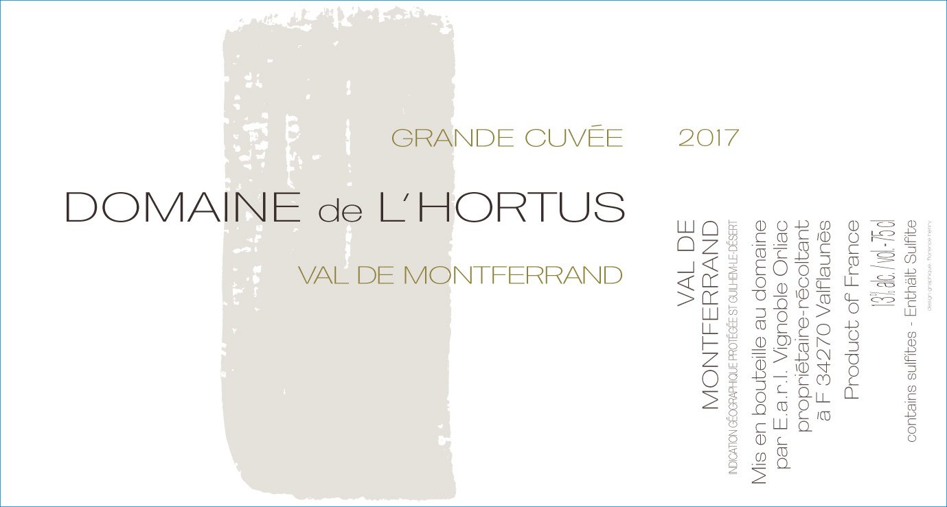 Hortus, Val de Montferrand Grande Cuvée, 2017