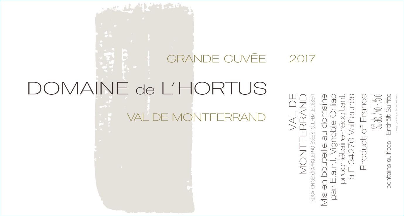 Hortus, Val de Montferrand Grande Cuvée, 2019