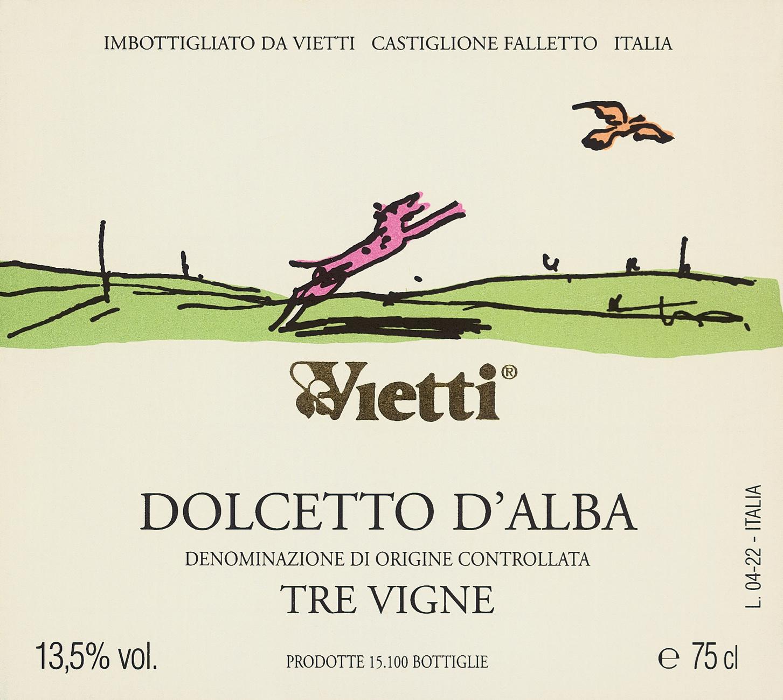 Vietti, Dolcetto d'Alba Tre Vigne, 2018