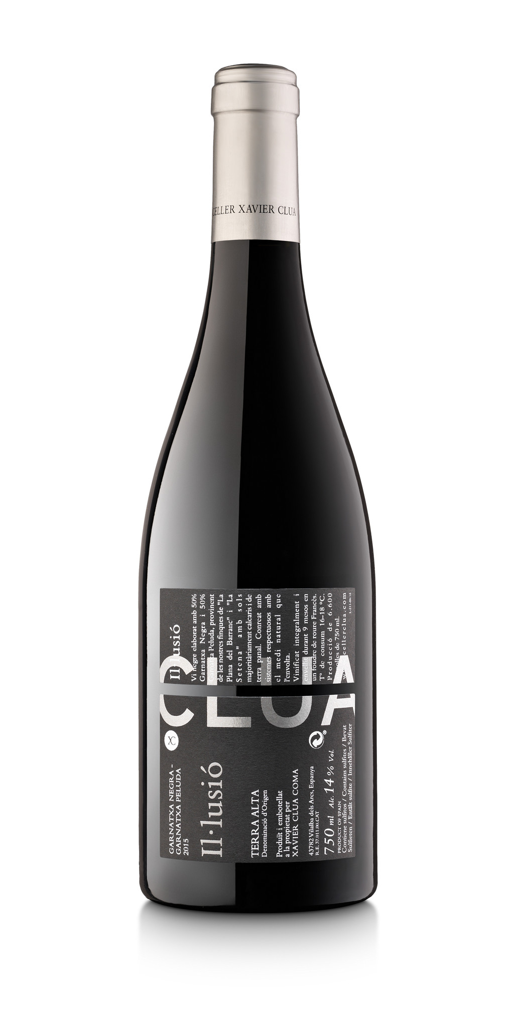 Clua Xavier, Garnatxa Negre Il.lussio, 2018