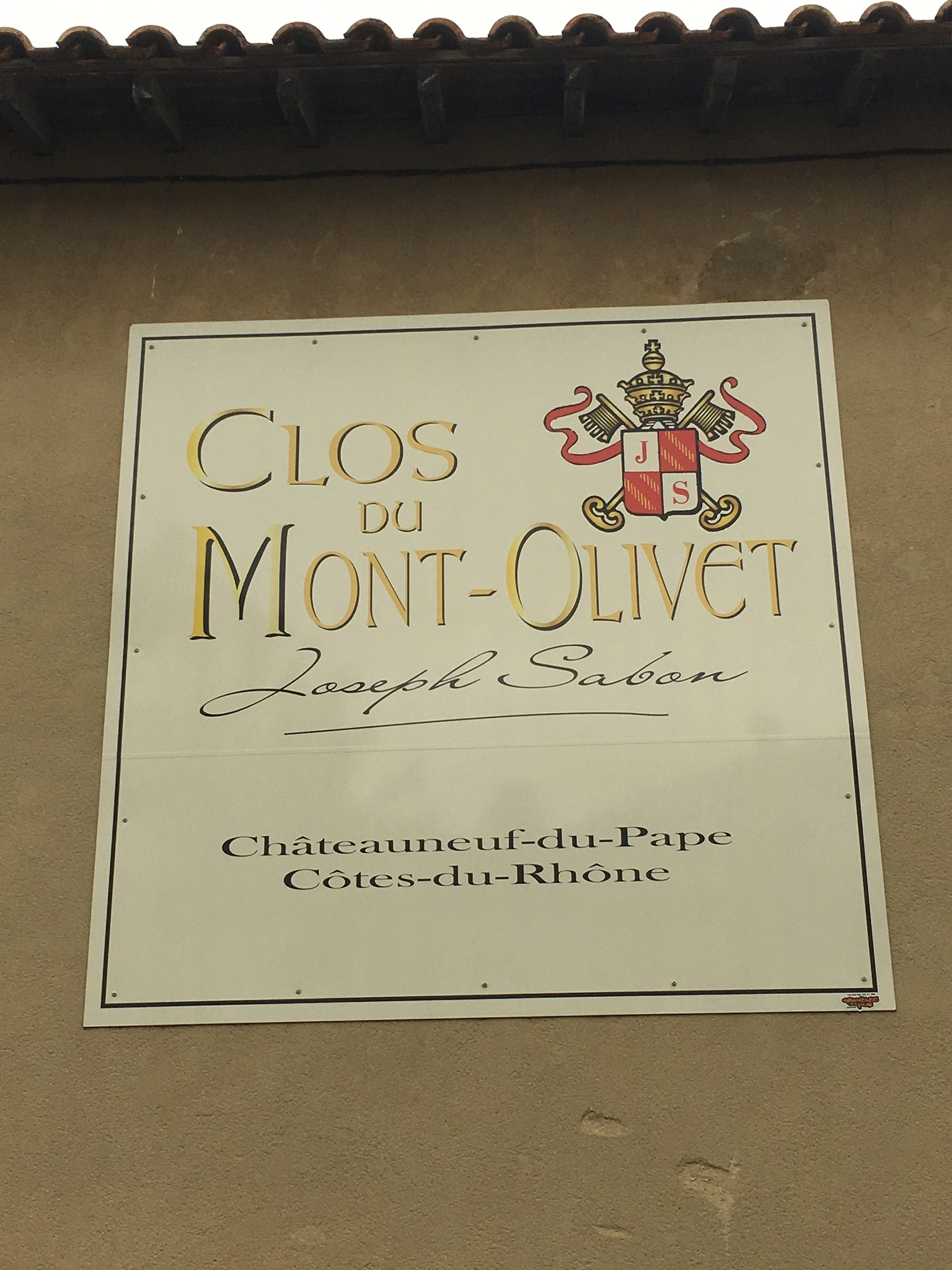 Clos du Mont Olivet, Vin de Pays du Gard Rive Droite, 2018
