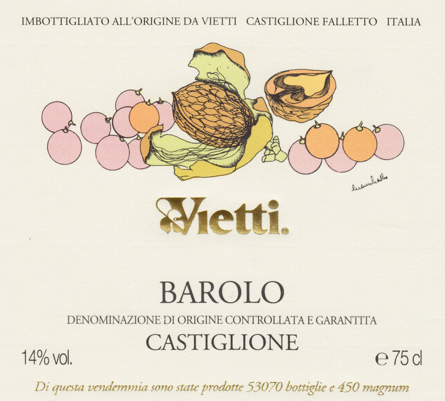 Vietti, Barolo Castiglione, 2016