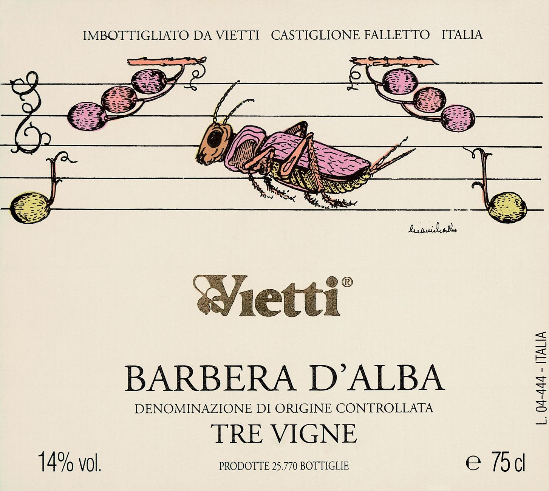 Vietti, Barbera d'Alba Tre Vigne, 2018