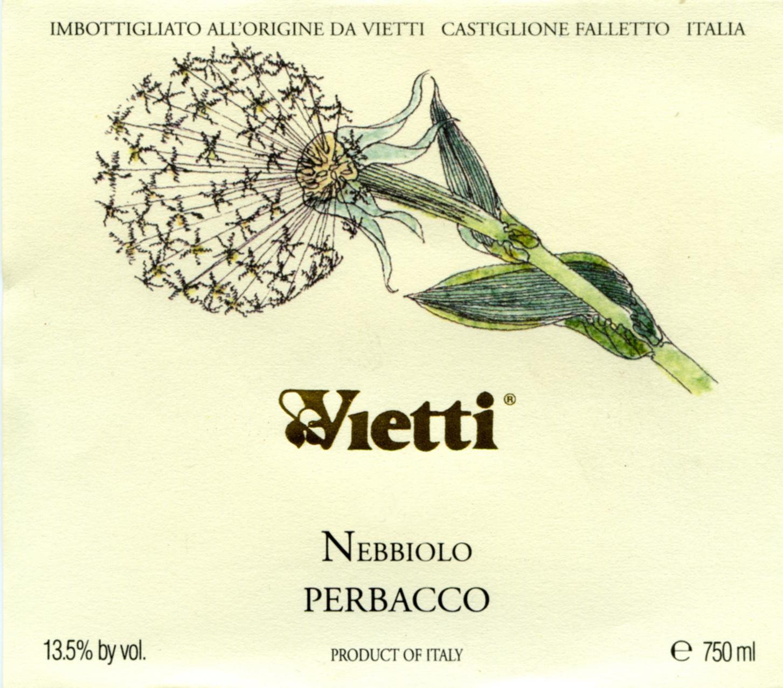 Vietti, Langhe Nebbiolo Perbacco, 2018