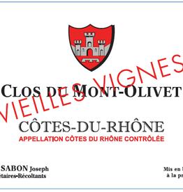 Clos du Mont Olivet, Côtes du Rhône Vieilles Vignes, 2018
